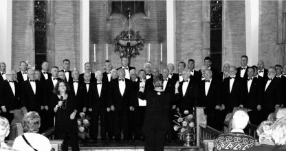 Sponsoring the Caldicot Male Voice Choir